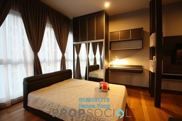 For Rent SoHo/Studio at Regalia @ Jalan Sultan Ismail, Kuala Lumpur Freehold Fully Furnished 1R/1B 1.5k