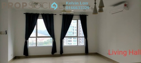 For Rent Condominium at Casa Tropicana, Tropicana Freehold Semi Furnished 3R/3B 2.15k