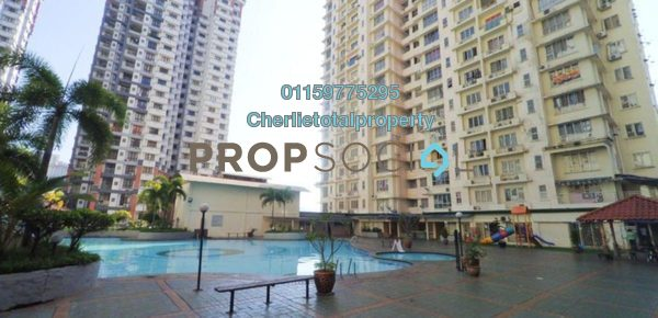For Rent Condominium at Gurney Heights, Keramat Freehold Semi Furnished 3R/2B 2k