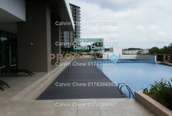 Serviced Residence For Sale in Sky Oasis Residences, Tebrau Freehold Unfurnished 2R/0B 320k