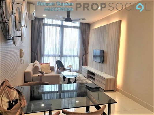 For Rent Condominium at Shaftsbury Square, Cyberjaya Freehold Fully Furnished 2R/2B 1.8k