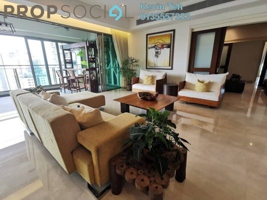 For Rent Condominium at 10 Mont Kiara, Mont Kiara Freehold Fully Furnished 4R/5B 13k