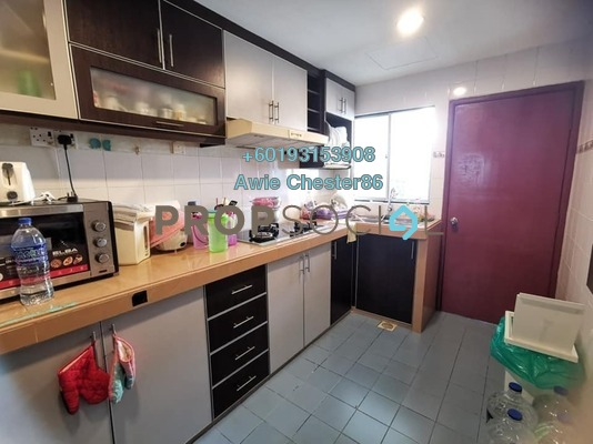 Apartment For Sale in Melur Apartment, Sentul Freehold Semi Furnished 3R/2B 390k
