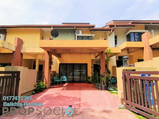 Terrace For Sale in Greenlane, Bukit Jelutong Freehold Semi Furnished 4R/4B 850k
