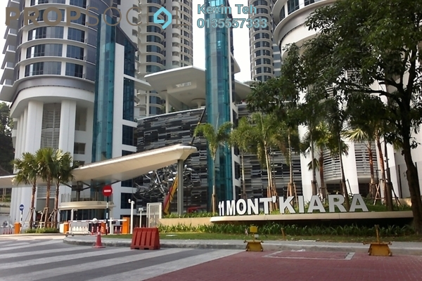 For Rent Condominium at 11 Mont Kiara, Mont Kiara Freehold Semi Furnished 5R/5B 18k