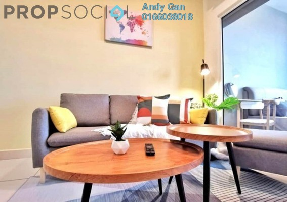 Serviced Residence For Rent in Arte Mont Kiara, Dutamas Freehold Fully Furnished 2R/2B 2.8k