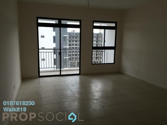 Apartment For Sale in The Garden Residences, Skudai Freehold Unfurnished 3R/2B 430k