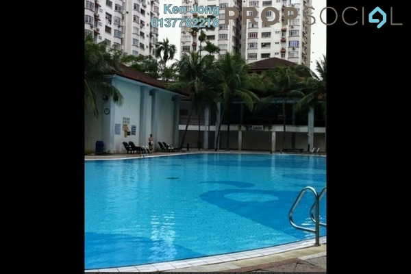 For Sale Condominium at Bukit OUG Condominium, Bukit Jalil Freehold Semi Furnished 1R/1B 250k
