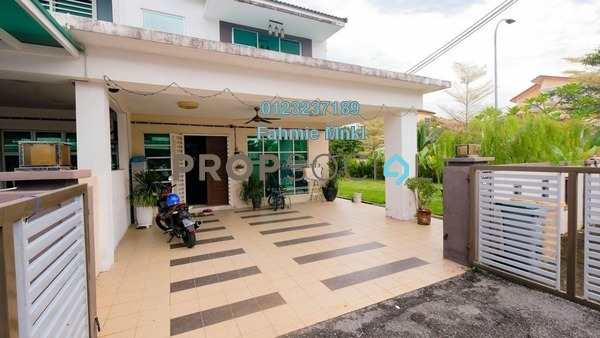 For Sale Terrace at Lavender Heights, Senawang Freehold Semi Furnished 4R/3B 610k