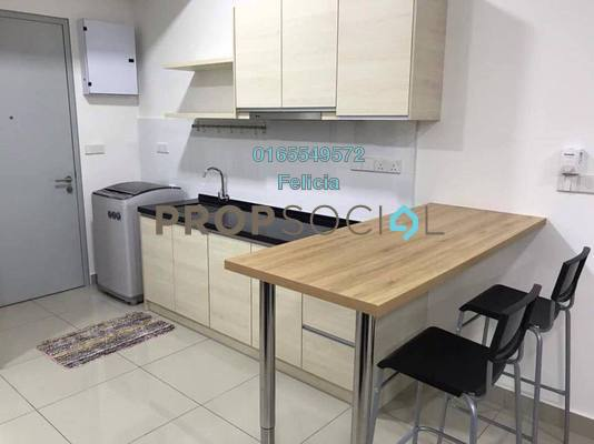 For Rent Condominium at Paramount Utropolis, Glenmarie Freehold Fully Furnished 1R/1B 1.15k