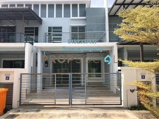Terrace For Rent in Taman Nusari Aman, Bandar Sri Sendayan Freehold Semi Furnished 4R/3B 1.2k