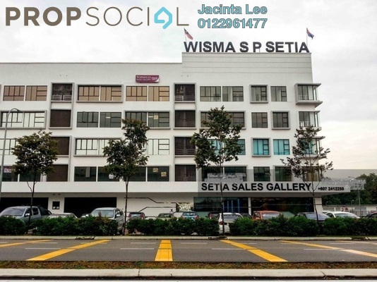 Office For Sale in Taman Bukit Indah, Bukit Indah Freehold Semi Furnished 0R/0B 535k