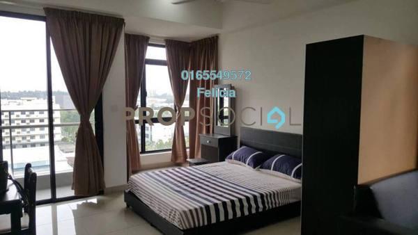 For Rent Condominium at Temasya Kasih, Temasya Glenmarie Freehold Fully Furnished 1R/1B 1.15k