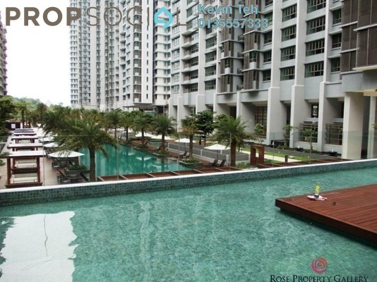For Rent Condominium at Seni, Mont Kiara Freehold Semi Furnished 4R/6B 12k