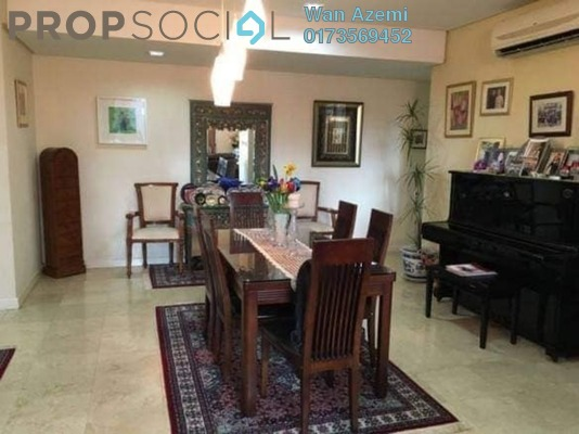 Condominium For Sale in The CapSquare Residences, Dang Wangi Freehold Fully Furnished 3R/3B 1.35m