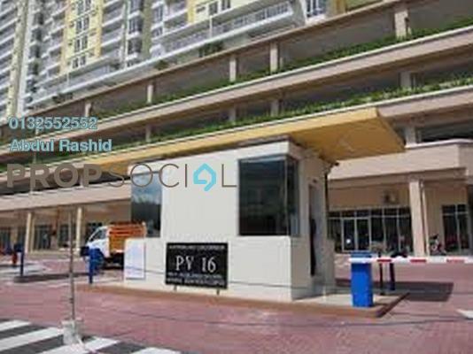 Condominium For Rent in Platinum Lake PV16, Setapak Freehold Fully Furnished 4R/2B 2k