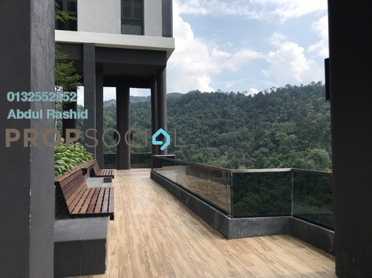 For Rent Condominium at The Veo, Melawati Freehold Semi Furnished 4R/4B 5.8k