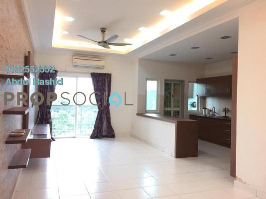 For Sale Condominium at First Residence, Kepong Freehold Semi Furnished 3R/2B 520k
