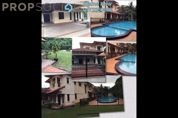 For Rent Bungalow at Mutiara Homes, Mutiara Damansara Freehold Semi Furnished 7R/5B 12k