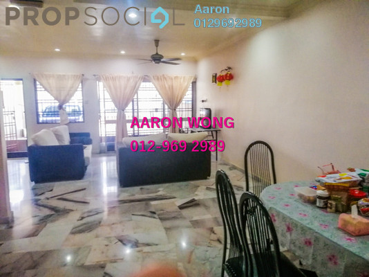 For Sale Terrace at Taman Meru Jaya, Meru Freehold Semi Furnished 4R/3B 428k