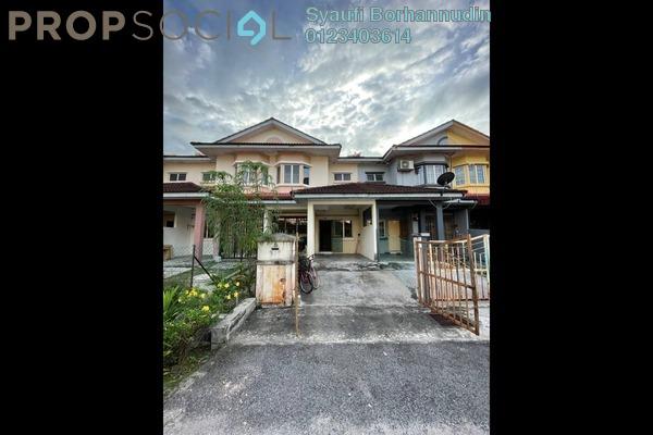 Terrace For Sale in Taman Alam Jaya, Batu 9 Cheras Leasehold Unfurnished 4R/3B 300k