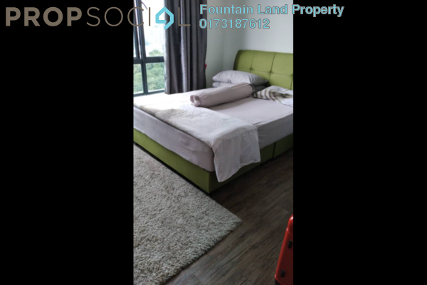 For Sale Serviced Residence at City of Green Condominium, Seri Kembangan Freehold Semi Furnished 1R/1B 290k