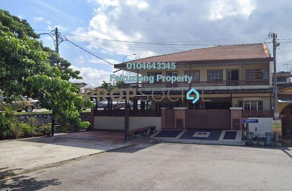 Terrace For Sale in Taman Bunga Raya, Setapak Freehold Semi Furnished 8R/8B 4m