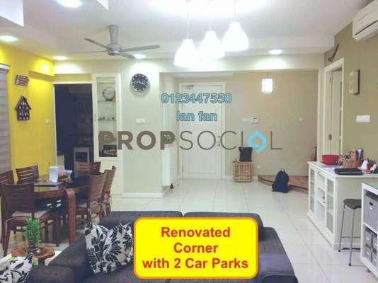 For Sale Condominium at Ara Hill, Ara Damansara Freehold Fully Furnished 3R/2B 1.14m