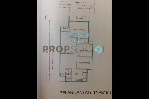 Townhouse For Sale in Casa Utama, Bandar Utama Freehold Semi Furnished 3R/2B 560k
