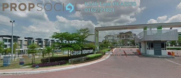 Bungalow For Sale in CasaIdaman, Setia Alam Freehold Semi Furnished 6R/6B 2.5m