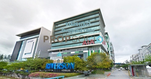 For Rent Office at Riverson, Kota Kinabalu Freehold Fully Furnished 0R/0B 8.33k