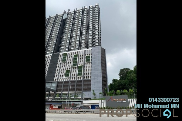 For Sale Condominium at Ayuman Suites, Gombak Freehold Fully Furnished 3R/2B 350k