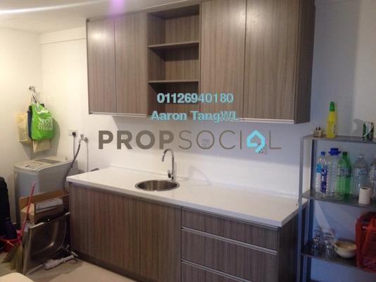 For Rent SoHo/Studio at Azelia Residence, Bandar Sri Damansara Freehold Semi Furnished 0R/1B 1.5k