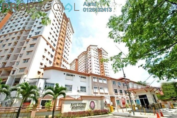 For Sale Apartment at Bayu Puteri 2, Johor Bahru Freehold Semi Furnished 3R/2B 395k