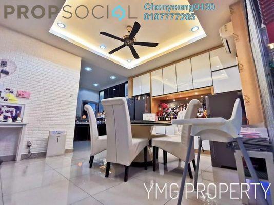 For Sale Terrace at Paloma, Bandar Bukit Raja Freehold Semi Furnished 5R/5B 950k