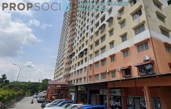 For Sale Apartment at Flora Damansara, Damansara Perdana Freehold Semi Furnished 3R/2B 210k