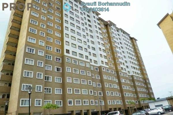 Apartment For Sale in Putra Suria Residence, Bandar Sri Permaisuri Freehold Unfurnished 3R/2B 320k
