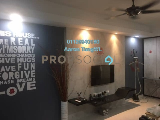 For Sale Townhouse at Amansiara, Selayang Freehold Fully Furnished 3R/2B 399k