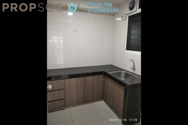 For Rent Condominium at Casa Tropika, Puchong Freehold Semi Furnished 3R/2B 1.2k