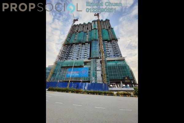 Condominium For Sale in Amani Residences, Bandar Puteri Puchong Freehold Unfurnished 2R/2B 420k