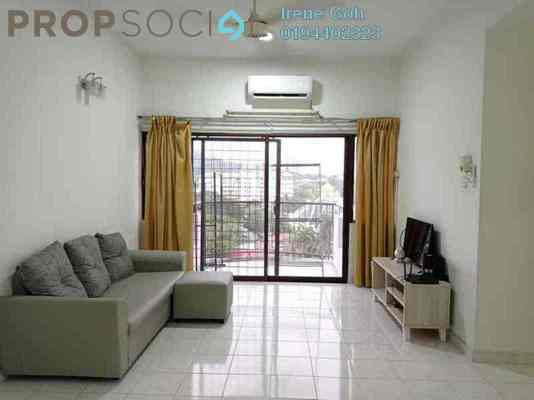 Apartment For Rent in Sri Saujana, Sungai Dua Freehold Fully Furnished 3R/2B 1.5k