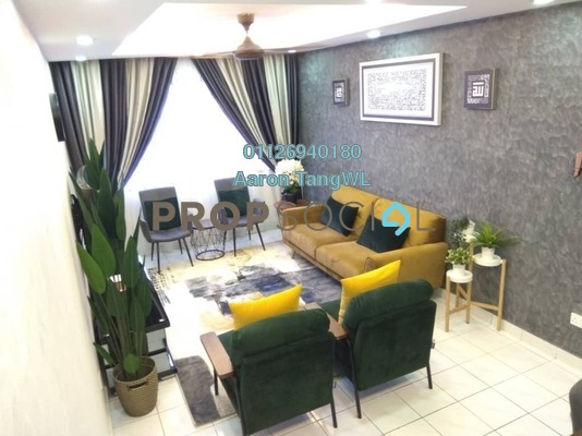 For Sale Apartment at SD Apartment II, Bandar Sri Damansara Freehold Fully Furnished 3R/2B 400k
