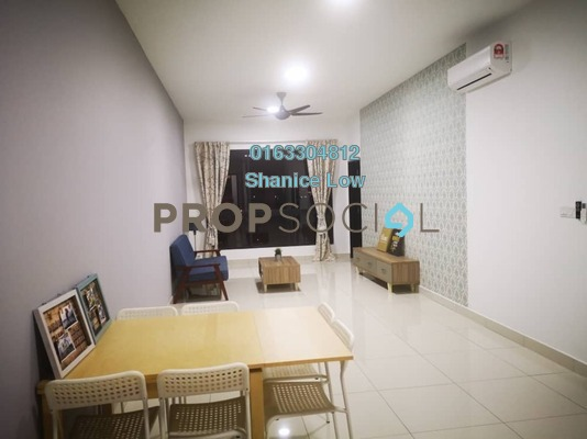 Condominium For Rent in The Havre, Bukit Jalil Freehold Fully Furnished 3R/2B 1.85k