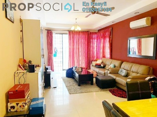 Condominium For Sale in Sri Putramas II, Dutamas Freehold Semi Furnished 3R/2B 500k