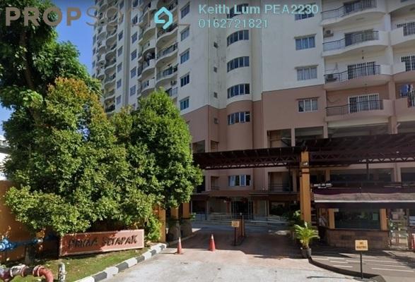 For Rent Condominium at Prima Setapak I, Setapak Freehold Semi Furnished 3R/3B 1.4k