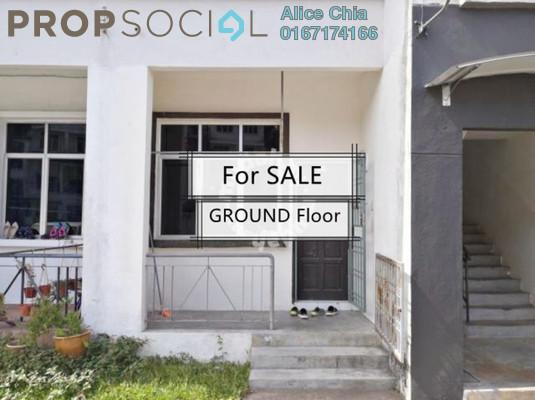 Townhouse For Sale in Bandar Seri Alam, Masai Freehold Semi Furnished 3R/2B 258k