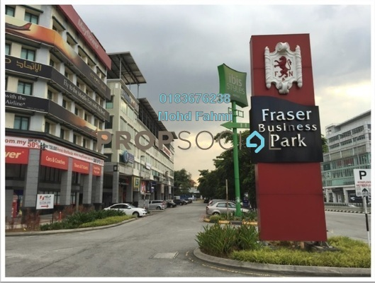 For Sale Office at Fraser Business Park, Sungai Besi Freehold Semi Furnished 0R/0B 33.5m