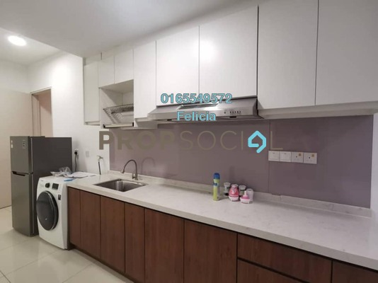 Condominium For Rent in D'Sara Sentral, Sungai Buloh Freehold Fully Furnished 1R/1B 1.15k