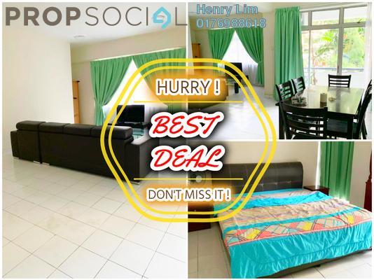 For Rent Condominium at Bayu Angkasa, Bangsar Freehold Fully Furnished 3R/2B 2.5k