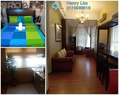 For Sale Serviced Residence at Park View, KLCC Freehold Fully Furnished 1R/1B 610k